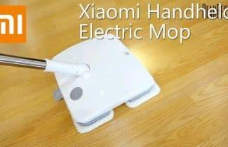 מגב רצפות חשמלי מבית שיאומי – עם קופון הנחה אטרקטיבי