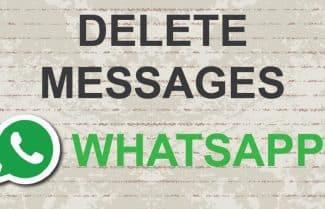 מתחרטים? WhatsApp מאפשרת למחוק הודעות שנשלחו לנמען
