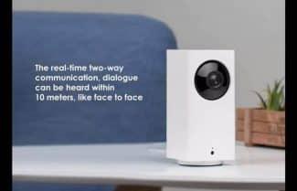 מצלמת אבטחה של שיאומי עם קופון הנחה אטרקטיבי