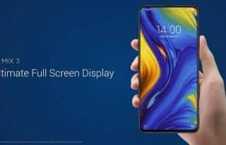"""הוכרז: Xiaomi Mi Mix 3 – עיצוב """"סליידר"""", ארבע מצלמות וזיכרון של עד 10GB RAM"""