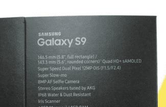 תמונה חושפת את מפרט ה-Galaxy S9 עם מערך צילום משופר