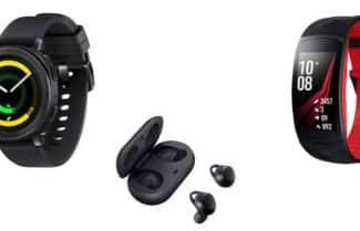 סמסונג ב-IFA 2017: שעון Gear Sport, צמיד כושר Gear Fit2 Pro ודור חדש ל-Icon X