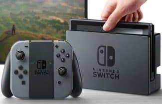 ג'ירפה בודקת: קונסולת המשחקים Nintendo Switch