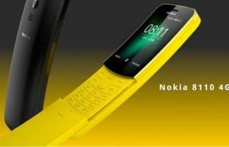 הבננה כבר כאן: נוקיה 8110 המיתולוגי נוחת בישראל; המחיר 399 שקלים