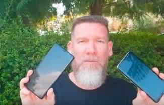 ג'ירפה בודקת: Galaxy Note 8 של סמסונג