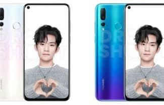 לפני ההכרזה: Huawei Nova 4 נחשף בתמונות 'רשמיות'