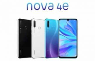 הוכרז: Huawei Nova 4e עם מסך 6.15 אינץ' ומערך צילום משולש