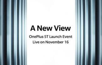 רשמי: OnePlus 5T יוכרז ב-16 בנובמבר בברוקלין, ניו יורק