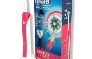 אמזון בריטניה: מברשת שיניים חשמלית Oral-B Pro 2 2000 בצבע ורוד