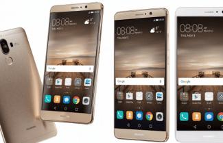 הוכרז: Huawei Mate 9 – פאבלט 5.9 אינץ' FHD עם מערך צילום כפול וערכת שבבים Kirin 960