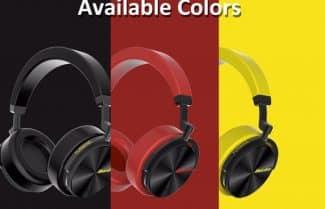 אוזניות אלחוטיות Bluedio T5 במגוון צבעים – במחיר מבצע!