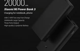 ירידת מחיר: סוללה ניידת שיאומי 20,000mAh *דור חדש* במחיר מעולה עם קופון הנחה!