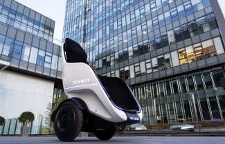 חברת Segway חשפה כלי תחבורה הנראה כמו כורסא ממונעת