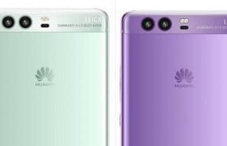 תמונות חדשות חושפות את ה-Huawei P10 בצבעי זהב, ירקרק וסגול
