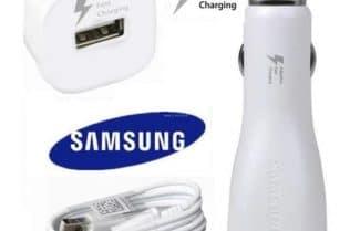 מטען מהיר לרכב + כבל טעינה USB-C מקורי מבית סמסונג – במחיר מבצע