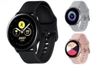 שעון חכם סמסונג Galaxy Watch Active במחיר מעולה לזמן מוגבל!
