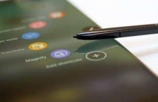דיווח: גם ה-Galaxy Note 8 לא יגיע עם חיישן טביעת אצבע מתחת למסך