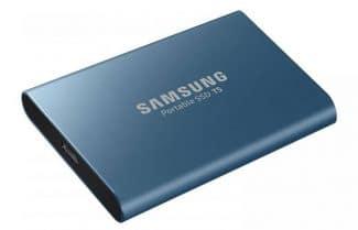 דיסק קשיח נייד SSD של סמסונג מסדרת T5 החדשה בנפח 250GB – במחיר מיוחד