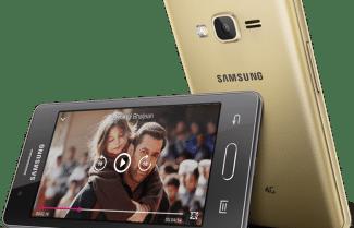 סמסונג מכריזה בהודו על ה-Z2: מסך 3.97 אינץ', מערכת הפעלה טיזן, ותמיכה בדור הרביעי