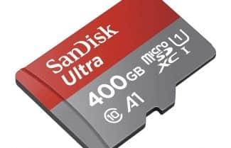 """אמזון ארה""""ב: כרטיס זיכרון SanDisk 400GB במחיר מבצע"""