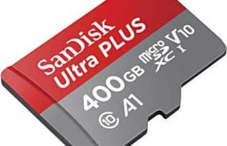 כרטיס זיכרון SanDisk Ultra 400GB במחיר מדהים!