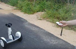ג'ירפה בודקת: רכינוע Segway miniPLUS