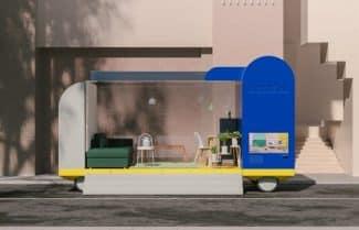 חדרים על גלגלים: איקאה מעצבת רכבים אוטונומיים עתידיים