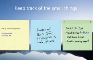 האם שירות Sticky Notes של מיקרוסופט בדרך לאנדרואיד ול-iOS?