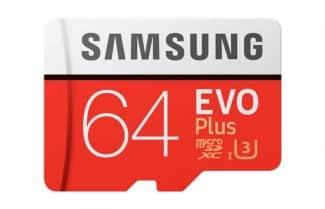 כרטיס זיכרון 64GB מבית סמסונג במחיר נמוך במיוחד עם קופון הנחה
