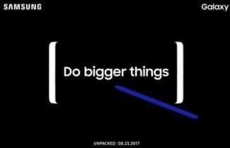 תפתחו יומנים: סמסונג תכריז על ה-Galaxy Note 8 ב-23 באוגוסט