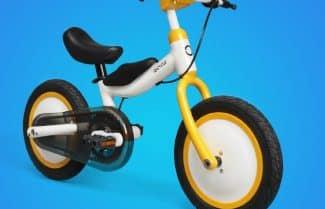 שיאומי מציגה אופניים בטיחותיים לילדים במחיר של 87 דולרים