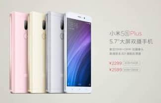 שאומי מכריזה על Xiaomi Mi 5s / Plus: ערכת שבבים Snapdragon 821 וסורק טביעת אצבע מתחת לזכוכית