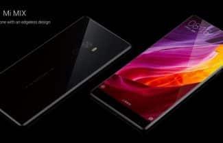 ג'ירפה מתרשמת: Xiaomi Mi Mix