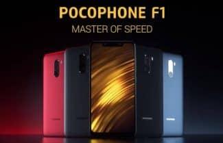 ירידת מחיר: Xiaomi Pocophone F1 במחיר מעולה כולל קופון וביטוח מס!