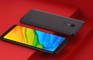 סמארטפון Xiaomi Redmi 5 Plus צבע שחור – עם קופון הנחה
