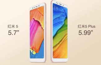 שיאומי מכריזה על ה-Redmi 5 ו-Redmi 5 Plus עם מסכי 18:9 במחירים נמוכים