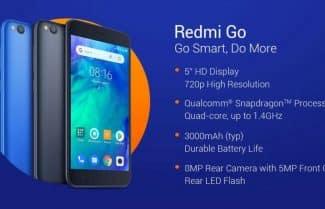 שיאומי מכריזה על Xiaomi Redmi Go המיועד לשוק הנמוך