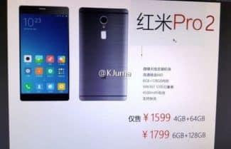 דיווח: Xiaomi Redmi Pro 2 ישלב מסך 5.5 אינץ' וסוללה בקיבולת 4,500mAh