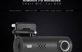 """מצלמת רכב """"70 דקות"""" מבית שיאומי – במחיר מבצע לזמן מוגבל!"""