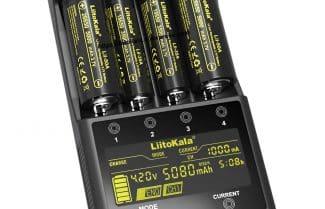 מטען ארבע סוללות מתקדם עם צג צבעוני במחיר מבצע כולל קופון הנחה!