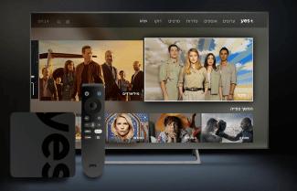 חברת YES משיקה את שרות +YES על גבי ממיר מבוסס Android TV